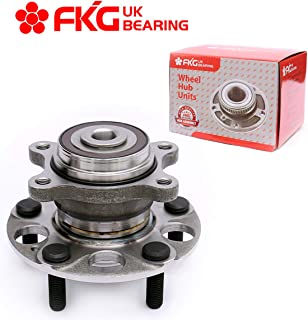 FKG 512257 Rear Wheel Bearing Hub Assembly fit for 2006-2011 Honda Civic ABS Models LX DX GX Only 1.8L, 5 Lugs