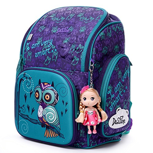 Delune 3D Cartoon Kids Boys Toys Lightweight Backpack   Water Resistant Isolated Back to School Bag (Bird)