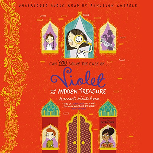 Violet and the Hidden Treasure audiobook cover art
