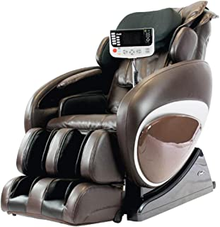 Osaki OS4000TB Model OS-4000T Zero Gravity Massage Chair, Brown Color, Computer Body Scan, Unique Foot Roller, Next Generation Air Massage Technology, Arm Air Massagers, Auto Recline and Leg Extension