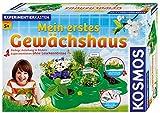 KOSMOS 634919 - Mein erstes Gewächshaus, Das Original, Erstes Gärtnern für Kinder ab 5 Jahre,...
