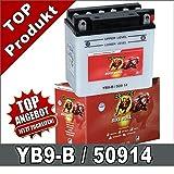 Batteria per moto YB9-B–, CB9B 9Ah 12Volt 50914Banner