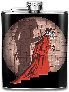 Ezekiel 25 17 Flasque de poche en acier inoxydable avec citation Pulp Fiction