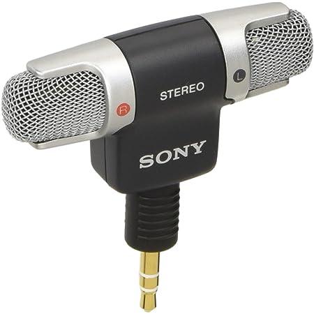 ソニー コンデンサーマイク ステレオ/音楽収音用 ECM-DS70P