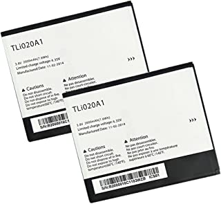 Generic World Star TLI020A1 (2-PC) 2100mAh 3.8V Battery for Alcatel One Touch POP S3, One Touch POP Star, OT-5050 with 2 Year Limited Warranty