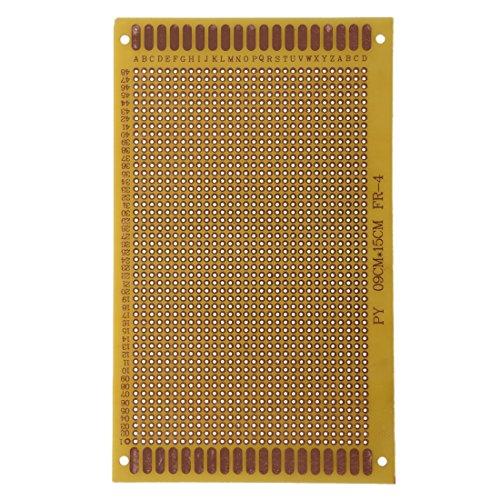 Senmubery 9 x 15cm Placa de circuito impreso PCB de un solo lado
