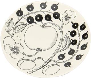 [ アラビア ] Arabia 皿 16.5cm パラティッシ ソーサー ブラック Paratiisi Saucer Black & White 中皿 食器 磁器 フィンランド 北欧 プレゼント 1005404 / 6411800066785