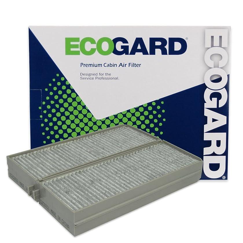 ECOGARD XC35675C Cabin Air Filter with Activated Carbon Odor Eliminator - Premium Replacement Fits Hyundai Santa Fe, Sonata, XG350