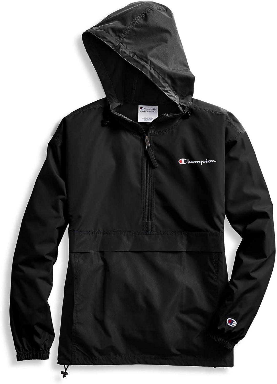 Champion Womens Packable Jacket Black