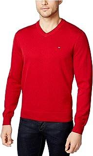 Men's Signature Solid V-Neck Sweater