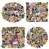 100Pack Funny Meme Stickers Water Bottles Laptop Car Hydroflasks Phone Motorcycle Guitar Skateboard Computer Funny Vine Meme Vinyl Sticker Waterproof Aesthetic Trendy Decals for Teens Girls Adults
