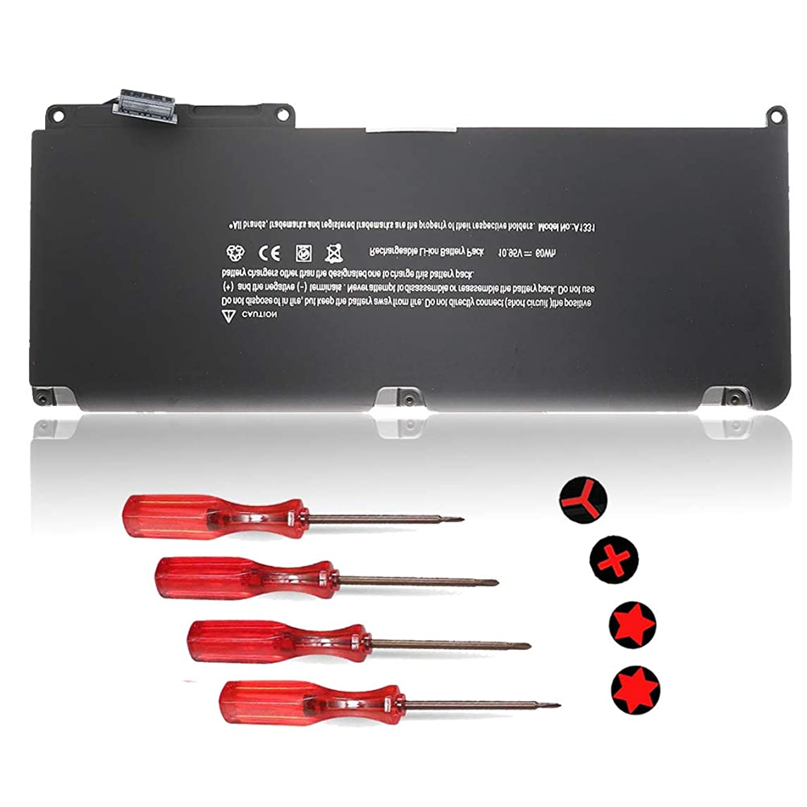 A1342 A1331 Battery Replacement Laptop Battery for Apple MacBook Unibody 13 inch (Only for MacBook Late 2009 Mid 2010),Compabiel for MC516/A MC207/A and MacBook Air MC233LL/A MC234LL/A - 10.95V