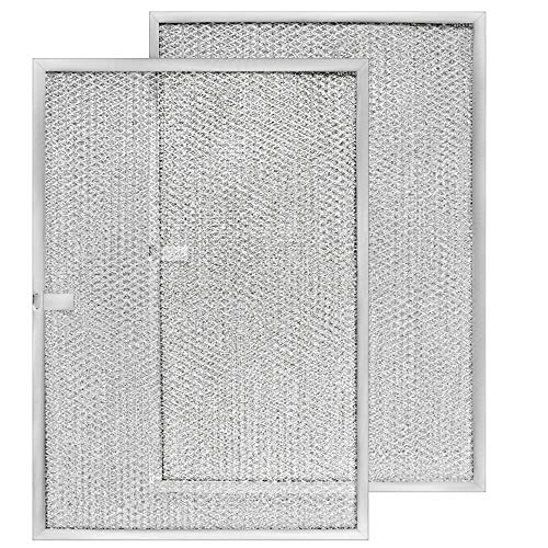"Broan Model BPS1FA36 Range Hood Filter 11-3/4"" X 17-1/4"" X 3/8"" Replacement for NuTone Allure 36"" WS1 and Broan QS1 36-Inch Filter Aluminum (Made in USA) (2-Pack)"
