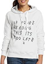 Drake If You're Reading This It's Too Late Sports Hooded Sweatshirt Women