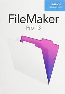 filemaker 13 upgrade