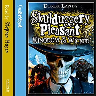 Kingdom of the Wicked: Skulduggery Pleasant, Book 7 cover art