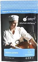 Pure Calcium Lactate (Molecular Gastronomy) ⊘ Non-GMO ☮ Vegan ✡ OU Kosher Certified - 400g/14oz