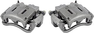 CCK11689 [2] FRONT Premium Grade OE Semi-Loaded Caliper Assembly Pair Set