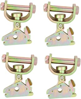 Mytee Products E Track Web Roller Idler Swivel Fitting - Extra Heavy Duty (4 - Pack)