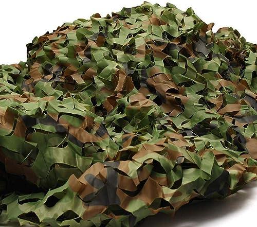 DLLzq Filet De Camouflage Filet De Camouflage pour La Chasse Au Camping Tir Au Drap d'Oxford Caché Tente De Parasol en Peau De Camping,A-5M×10M