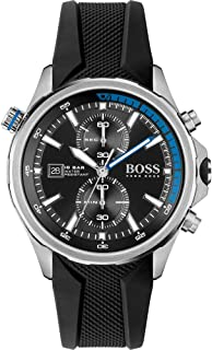 Hugo Boss Men's Analogue Quartz Watch with Silicone Strap 1513820