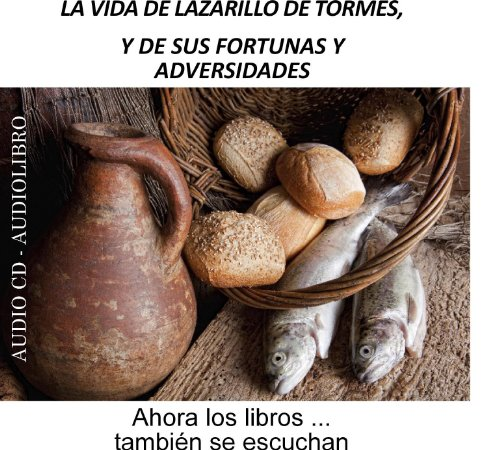 La vida de Lazarillo de Tormes, y de sus fortunas y adversidades [The Life of Lazarillo de Tormes and of His Fortunes and Adversities] audiobook cover art