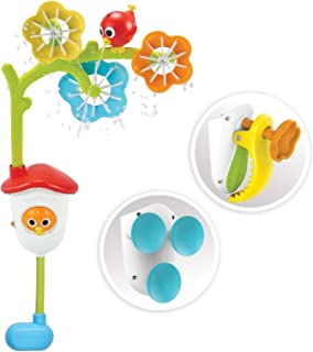 Yookidoo 40158 Spin 'N' Sprinkle Bath Toy, Multi
