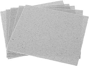 Gjyia 12x12cm / 4.7x4.7inch Microondas Horno Placas de Mica Reparación Parte Resistencia al Calor