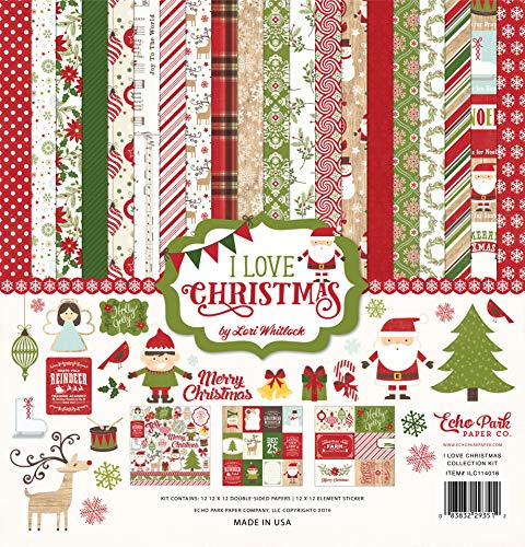 Echo Park Paper Company Love Christmas Collection Kit