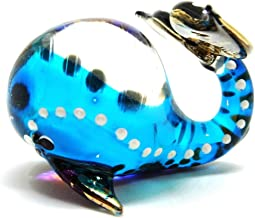 Handmade Whale Art Glass Blown Sea Animal Figurine