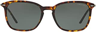 Luxury Fashion | Giorgio Armani Mens AR8111502671 Brown Sunglasses | Season Outlet
