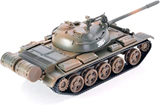 DS.DISTINCTIVE Style Heavy Duty Military Russian Tank T55 1:56 Alloy Diecast Tank Model Toy - Ideal Birthday Surprise for Teen Boy, Army Friend