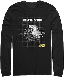 STAR WARS Mens STRW0672-10015001 Star Schematics Shirt Long Sleeve T-Shirt