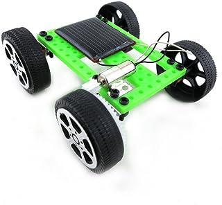 66toys Mini Solar Power Car DIY Assemble Toy Set, Encourage Imaginative Educational Science Experiment Car Kit Solar Power...