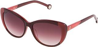 968d3f343a9a1 Carolina Herrera Designer Sunglasses SHE648-OGEV in Burgundy Rose Gradient  Lens