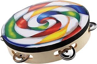 Perfeclan 8'' Handmade Lollipop Tambourine Drum