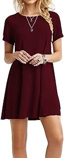 Best dark green short sleeve dress Reviews