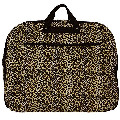 World Traveler 40 Inch Hanging Garment Bag, Leopard, One Size