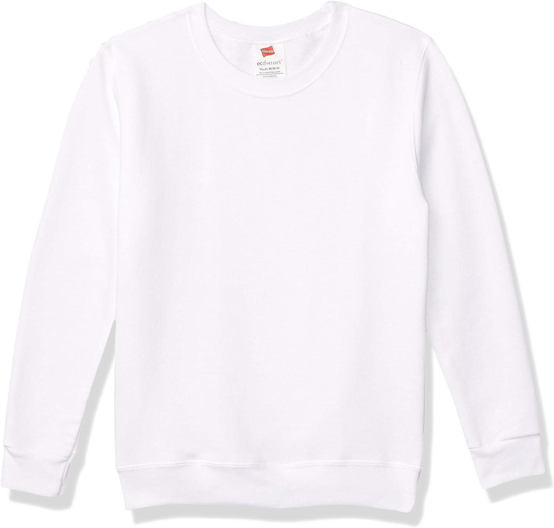 Hanes Boys Youth ComfortBlend EcoSmart Crewneck Sweatshirt(P360)