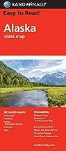 Rand McNally Easy To Read: Alaska State Folded Map