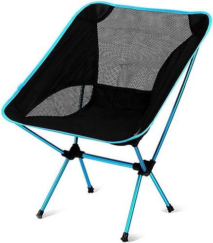 Lisserf Klappstuhl Leichte, tragbare Tasche Klappstuhl Sitz Outdoor Camping BBQ Picknick Strand Freizeit Stuhl