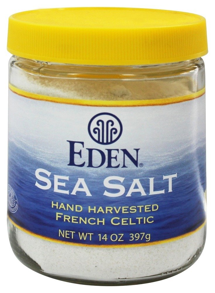 Eden Foods French Sea Salt 14 - per Ounce Max 50% OFF Max 65% OFF 6 case