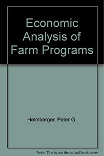 Economic Analysis of Farm Programs/Book and Disk