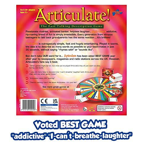 Asmodée 5019150000056 Drumond Park Articulate Family Board Fast Talking Description Game, Single, Multi