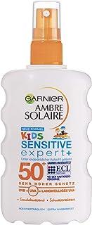 Garnier Ambre Solaire Sensitive Expert plus Sonnenschutz-Spray für Kinder LSF 50 plus,..