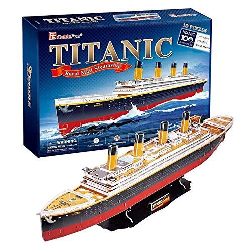 3d Puzzle Titanic 113Stück 3+ (Geschenk)