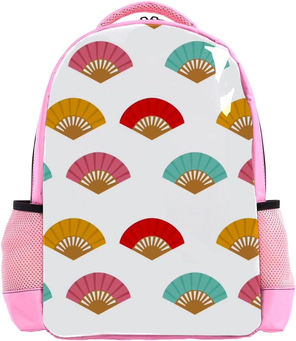 Backpack for Kids Girls Boys Waterproof OFFicial mail order Fan Patt 5 ☆ very popular Travel