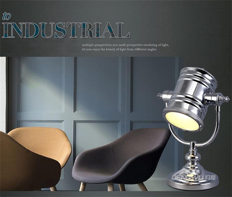 Jack Mall-Hyundai Steel Persönlichkeit einfache Wohnzimmerlampe Nachttischlampe Scheinwerfer B01N2G2M60 | Lebendige Form