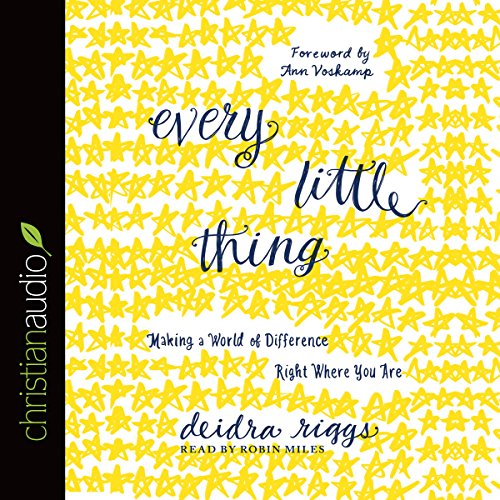 Every Little Thing audiobook cover art