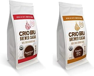 2 Pack 10 oz Seasonal Bundle   Organic Healthy Brewed Cacao Drink   Great Substitute to Herbal Tea and Coffee   99% Caffei...